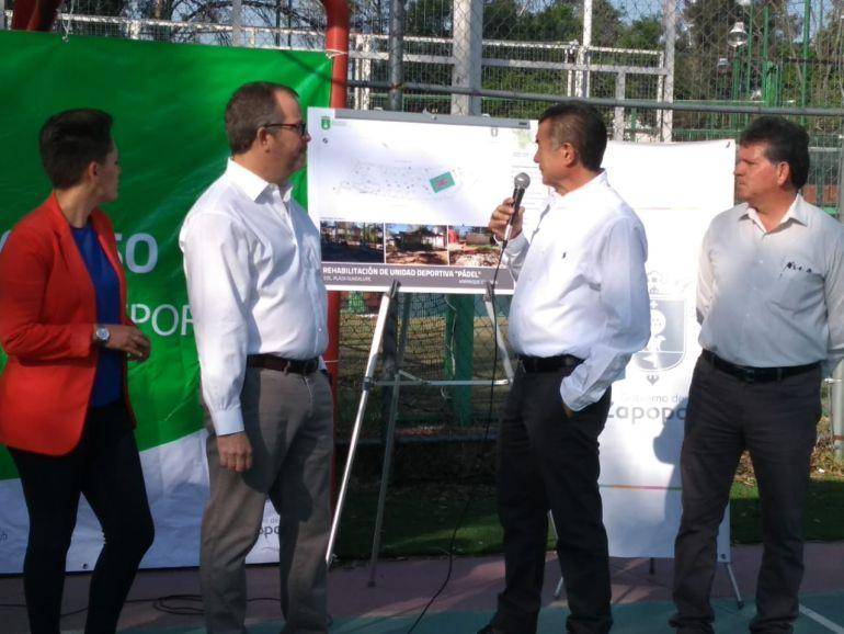 Zapopan inicia rehabilitación de la Unidad Deportiva Pádel