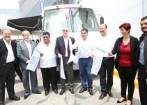 Inaugura el ISSSTE dos unidades móviles de servicios de salud en Jalisco