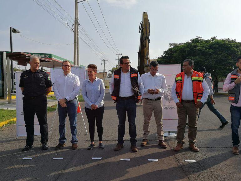 Arrancan obras de pavimentación en la colonia El Colli