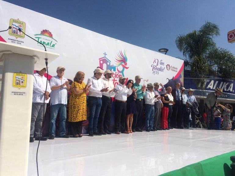 Inauguran andador cultural en Tonalá