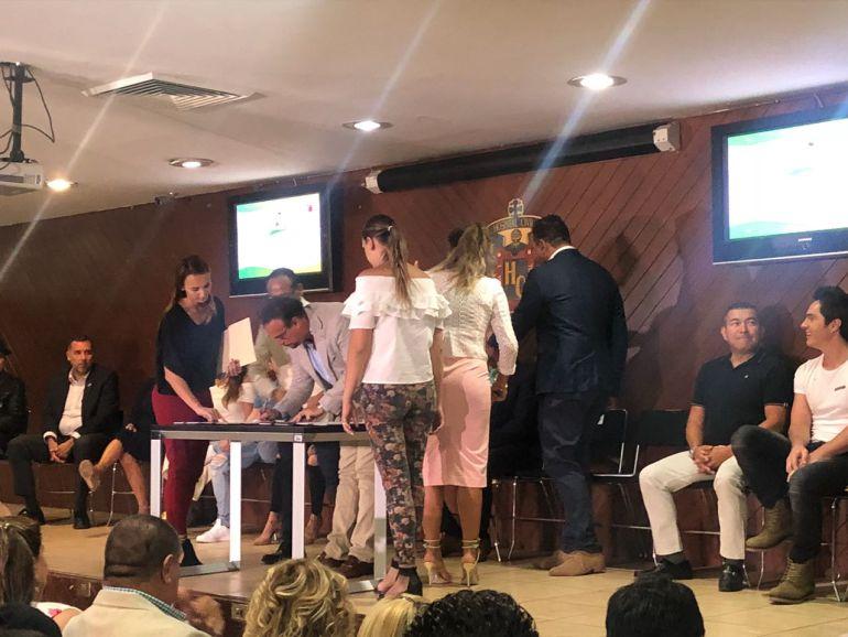 Firma convenio el HCG con la fundación Apadrina un Trasplante