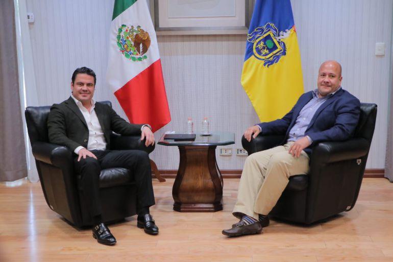 Instalan mesas de transición en Casa Jalisco
