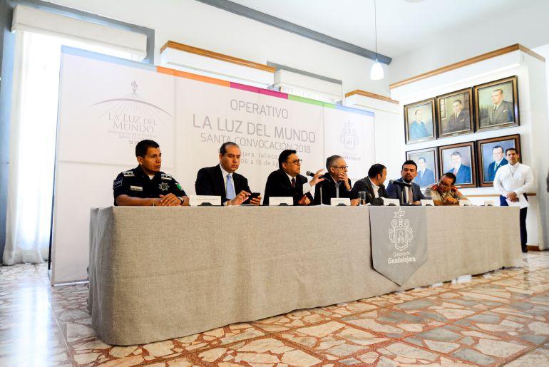 Anuncia Guadalajara operativo para la Santa Convocación de la Luz del Mundo