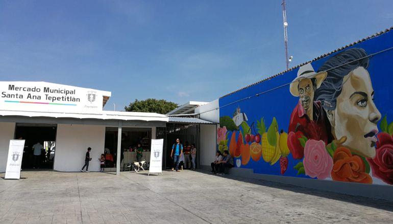 Rehabilitan mercado municipal de Santa Ana Tepetitlán