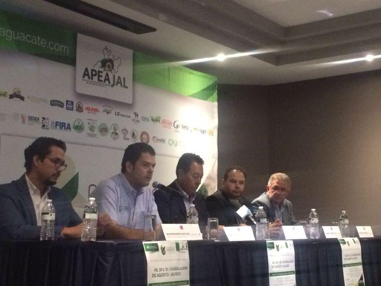 Anuncian la realización del sexto Congreso de Aguacate Jalisco 2018