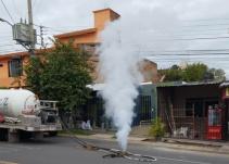 Se registra fuga de gas en Tonalá