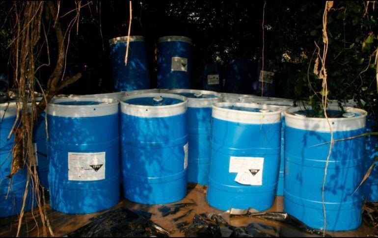 Aseguran más de 4 mil litros de gasolina en Zapotlanejo
