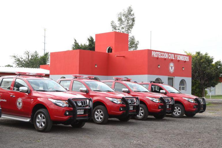 Inauguran nuevo cuartel de Protección Civil y Bomberos de Tlajomulco