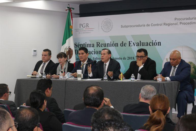 Celebran Reunión Plenaria de Delegados de la PGR en Jalisco