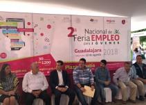 Llevan a cabo la segunda Feria de Empleo para Jóvenes en Guadalajara