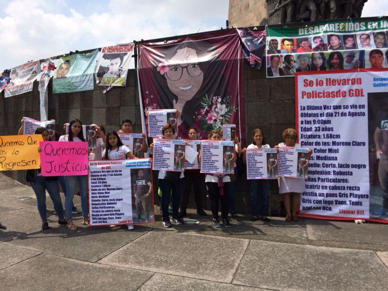 Protestan por aparición con vida de Guillermo Padilla