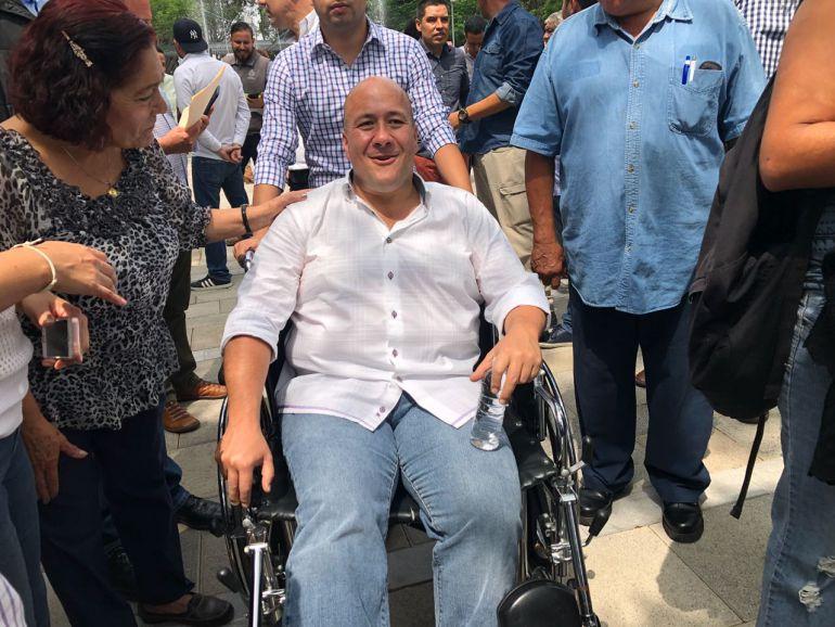 Promete Alfaro retomar modelo de Policía Metropolitana