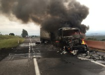 Cierran autopista León- Aguascalientes por accidente