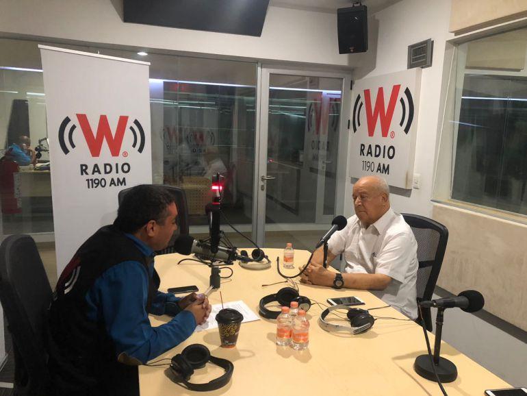 Reporte W con el Mayor Trinidad López Rivas