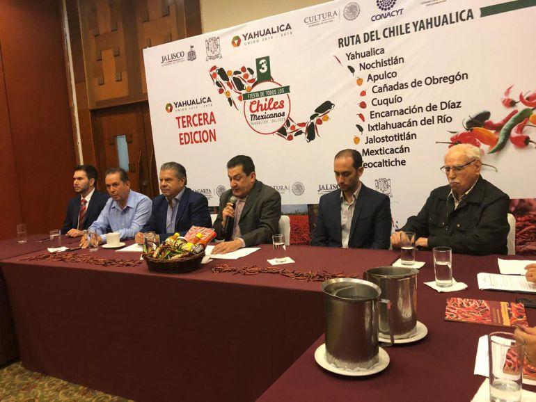 Yahualica celebrará la tercera edición de la Feria de todos los Chiles Mexicanos