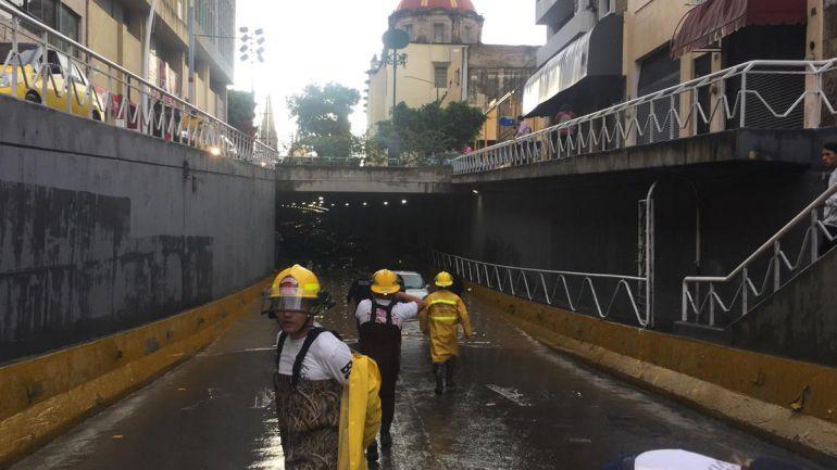 Basura tapa túnel de Hidalgo