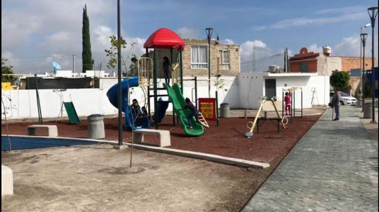 Entregan parques en Chulavista