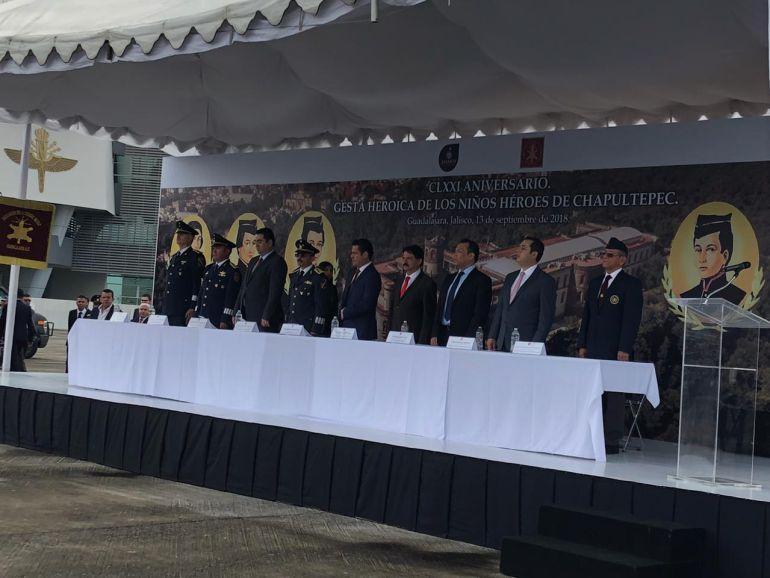 Conmemoran 171 aniversario de la Gesta Heroica