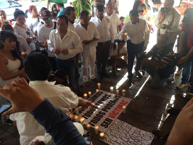 Fueron organizaciones más que policías: López Lara sobre manifestación por elementos caídos