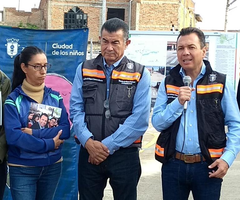 Entregan infraestructura pluvial en La Magdalena
