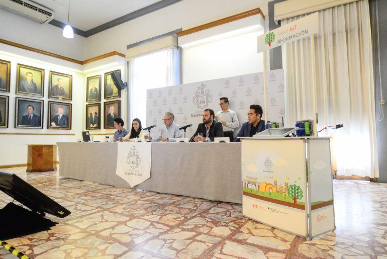 Lanzan app para conocer el arbolado de Guadalajara