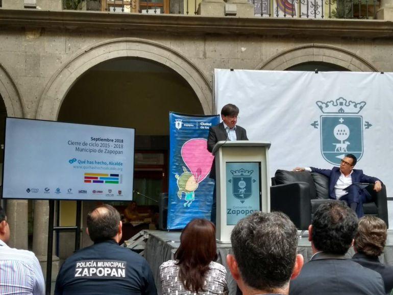 Jalisco Cómo Vamos evaluó al alcalde Pablo Lemus