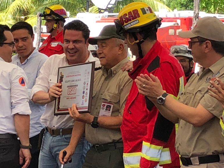 Protección Civil Jalisco, la mejor preparada para en caso de derrumbes