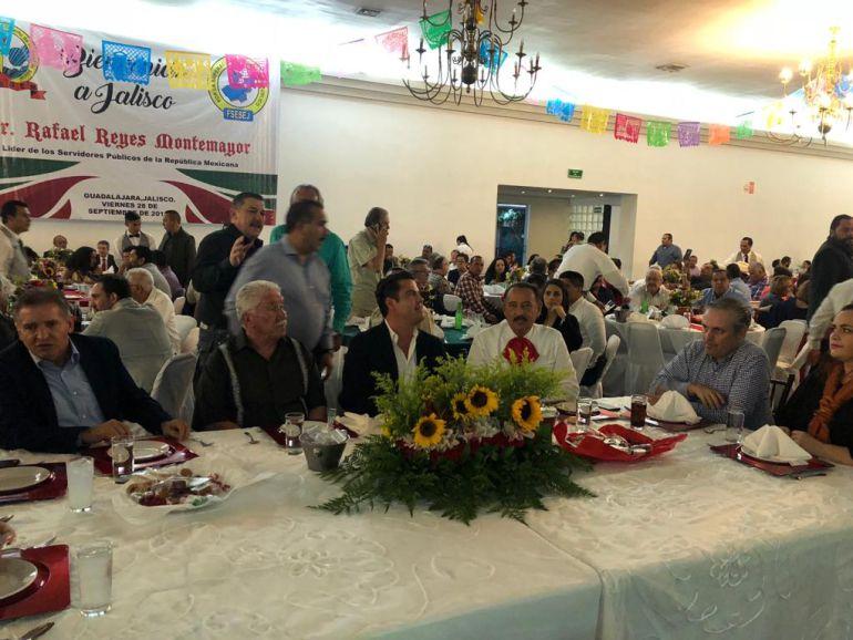 Dirigente de burócratas destaca apoyo dado por el gobernador Aristóteles