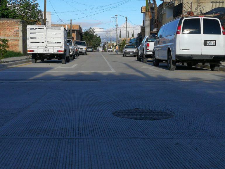 Entregan pavimentación en El Fresno en Zapopan