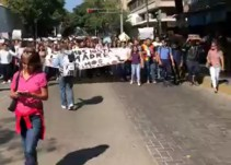 """""""Queremos paz, queremos justicia"""": FEU"""