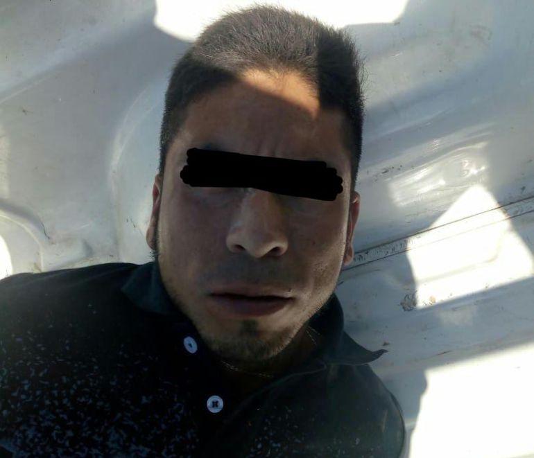 Detienen a sujeto que robó camioneta con vídeo del C4