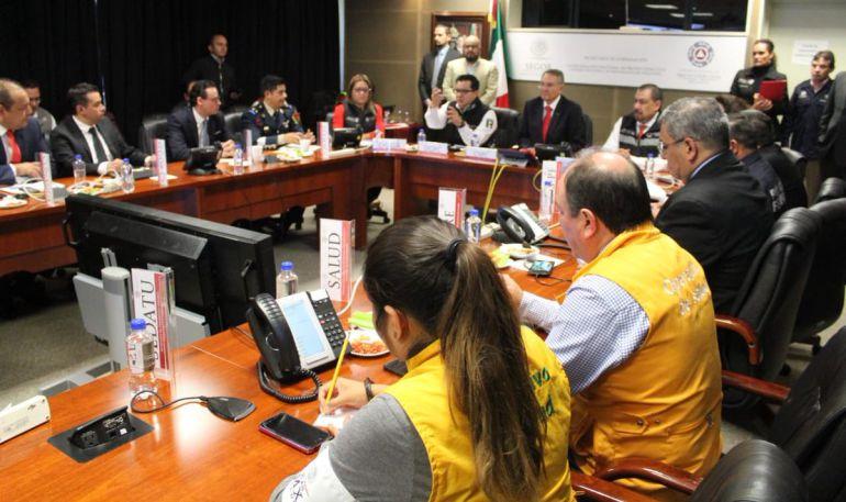 Instalan Comité Nacional de Emergencias por huracán 'Willa'