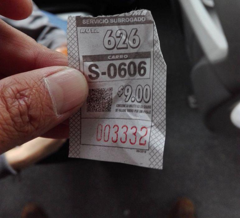 Rutas de transporte público incrementan tarifa sin permiso; anuncian sanciones
