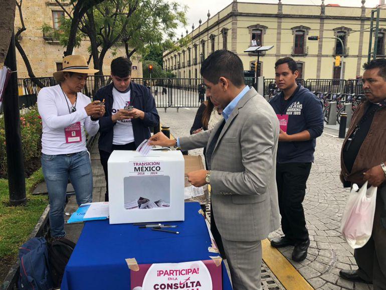 En Jalisco arranca consulta por el NAIM