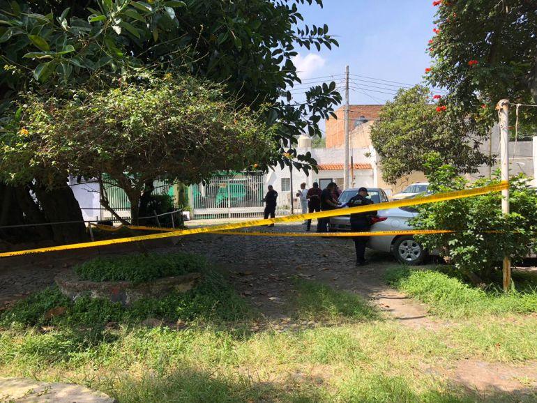 Registran asesinato a tiros en Guadalajara