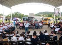 Aristóteles Sandoval entregó últimos apoyos en el interior de Jalisco