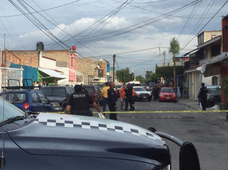 Asesinan a tres personas en colonia Villa Guerrero
