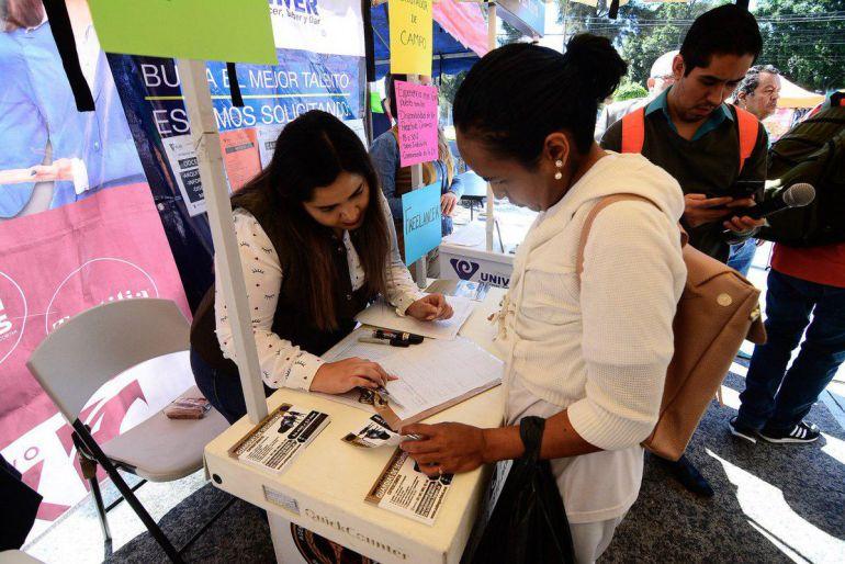 Realizan la Feria del Empleo Itinerante de Guadalajara