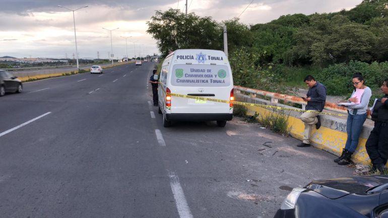 Asesinan a tres personas en Tonalá
