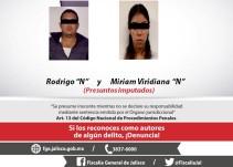 Pareja es acusada de feminicidio contra su propia hija
