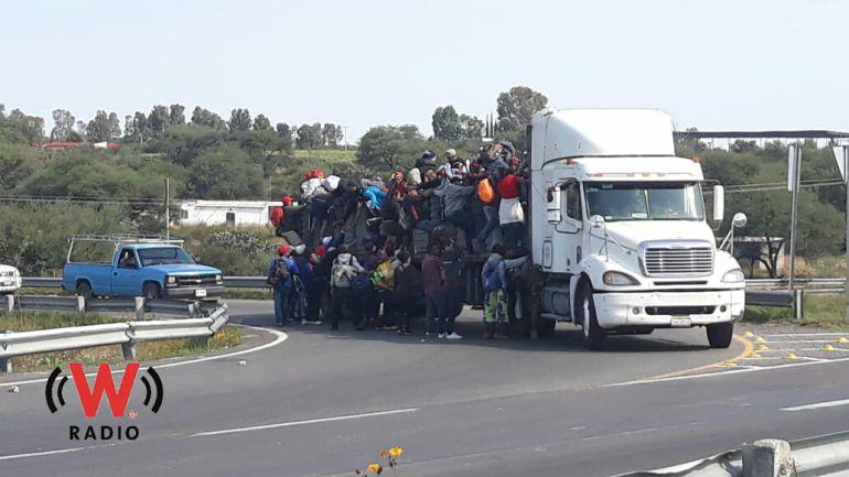 Caravana de migrantes llega a Jalisco