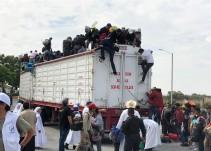 Llega el tercer contingente de migrantes a Jalisco