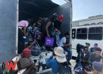 SGG descarta infiltración del crimen organizado en la caravana migrante