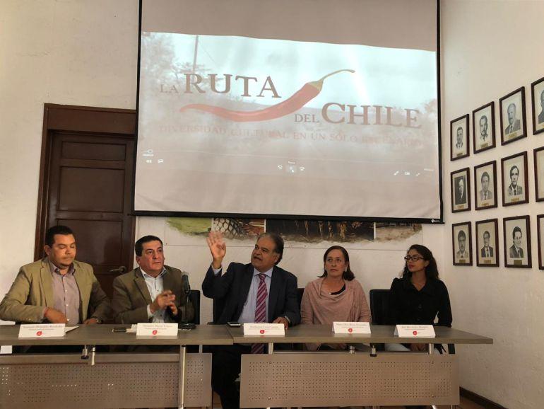 Presentan la Ruta del Chile