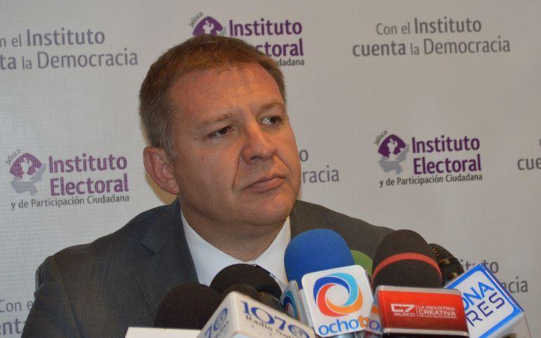 Guillermo Alcaraz conforme con propuesta de presupuesto para IEPC