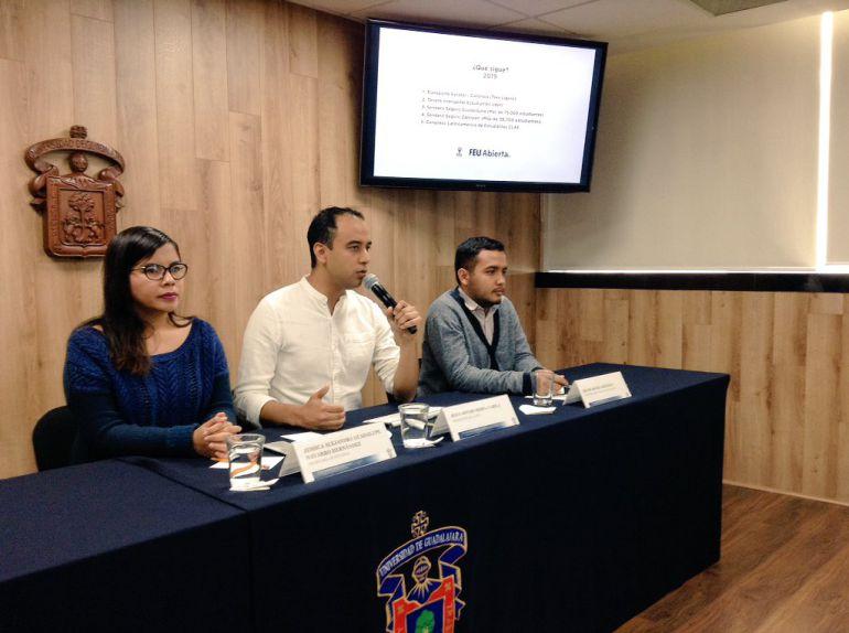 FEU realiza censo a caravana migrante