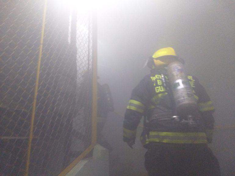 Se incendia empresa chocolatera en Guadalajara