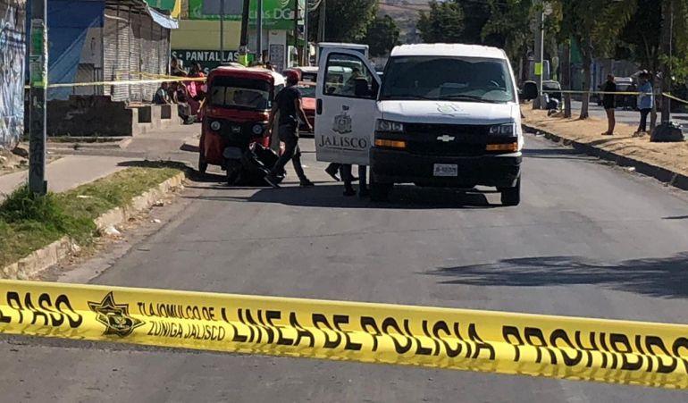 Mototaxista es asesinado en Tlajomulco