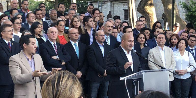 Alfaro reclama a AMLO trato justo y respeto a la autonomía de Jalisco