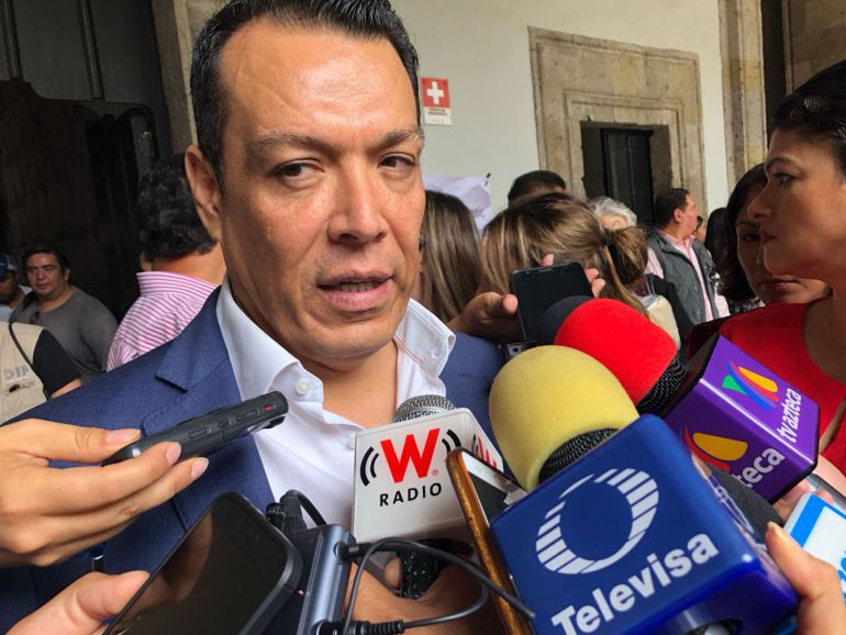 Dejamos un estado con tranquilidad política y social: Roberto López Lara